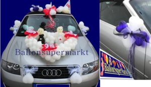 Autodekoration-ballons