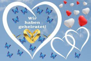 Ballonflugkarte-wir-haben-geheiratet-schmetterlinge