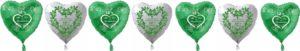Ballons-zur-Petersilienhochzeit