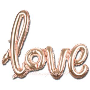 Folienballon-Love-Schriftzug-rosegold-Geschenk-Liebe-Hochzeit-Valentinstag-Dekoration-Luftfuellung