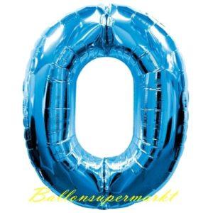 Folienballon-Zahl-0-Blau-Luftballon-Geschenk-Geburtstag-Jubilaeum-Firmenveranstaltung