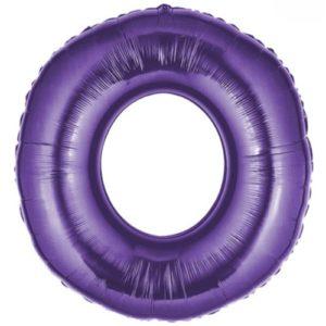 Folienballon-Zahl-0-Lila-Luftballon-Geschenk-Geburtstag-Jubilaeum-Firmenveranstaltung