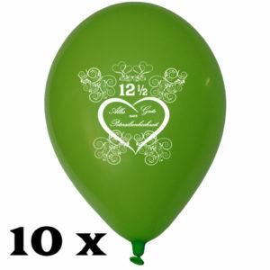 Luftballons-Alles-Gute-zur-Petersilienhochzeit-gruen-30-cm-10-Stueck