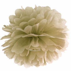 Pompom-35-cm-Gold