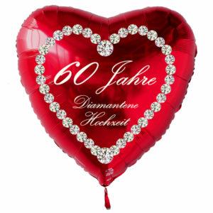 Roter-Herzluftballon-aus-Folie-60-Jahre-Diamantene-Hochzeit