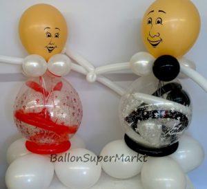 geschenk-im-ballon-brautpaar-braut-und-bräutigam