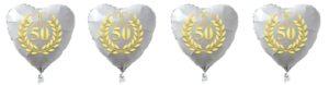 goldene-hochzeit-50-jahre-verheiratet Ballon
