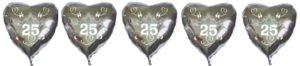 silber-hochzeit-luftballons